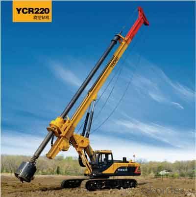 yuchai YC220R Rotary drilling rig.