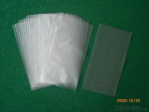 Customized Plastic bag with adhesive