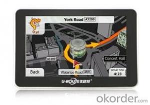 Portable 5 inch GPS Navigation