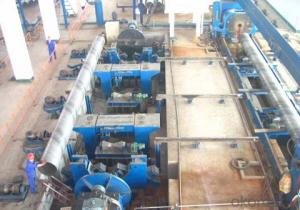 Spiral welded pipe arc welded pipe flat head chamfering machine