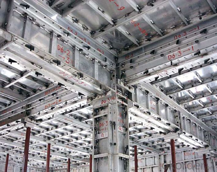 Aluminum Formwork system for Building Construction