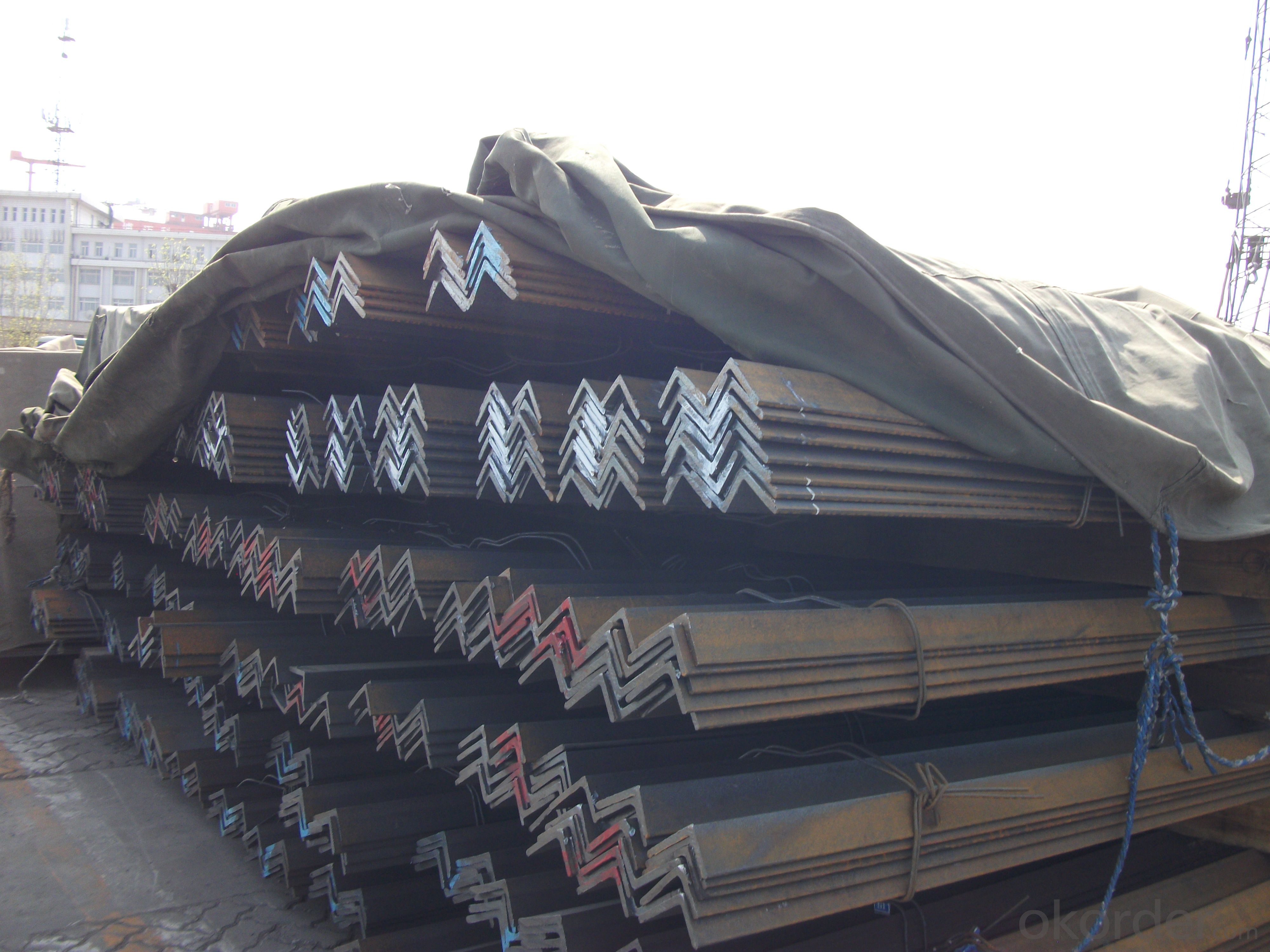 Hot Rolled Steel Unequal Angle Bar Many Sizes