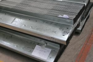 Unequal Galvanized Z Steel