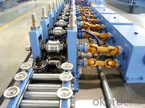 pipe 32mm welded pipe mill roll forming machine