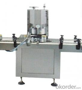 Automatic Glass Plastic Jar Tin Can bottle Vacuum Capping Seaming Closing Machine