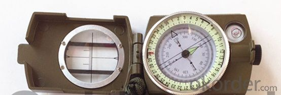 Portable Metal Compass for Outdoor or Marching