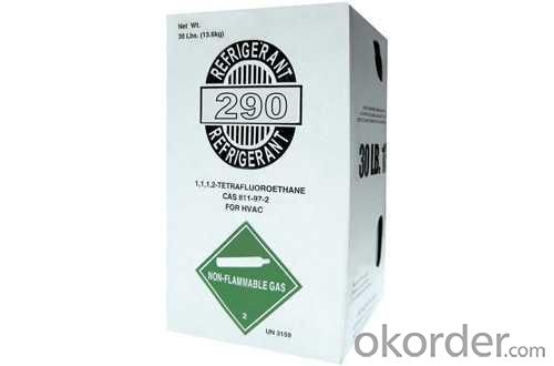 Refrigerant R290 Gas