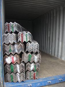 Hot Rolled Steel Equal Angle High Quality