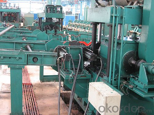 straight welded pipe flat head chamfering machine