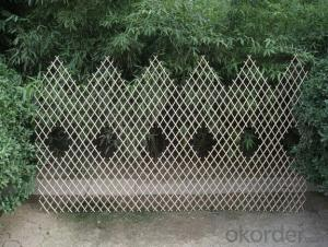 WILLOW NATURAL EXPANDABLE PANEL DECORATING FENCE