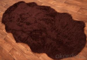 Faux Sheep Skin Floor Mat