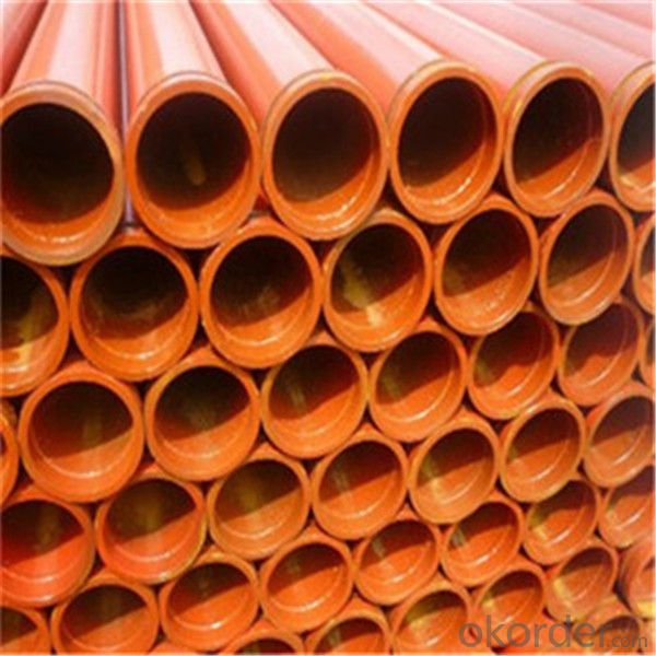 High pressure DN125 concrete pump straight pipe
