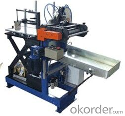 Metal Tin Can Rolling Machine Making Machine