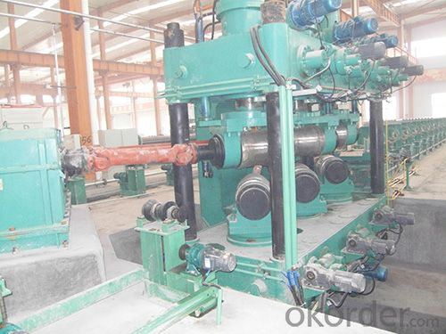 steel coils strighten machine