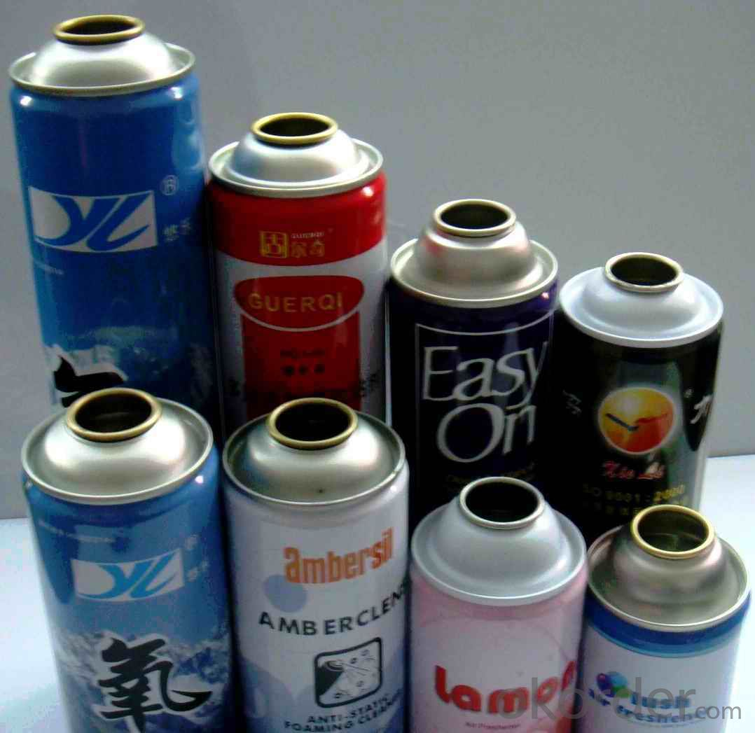 Empty Car Care Aerosol Tin Can 52mm, Prime Quality