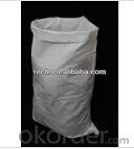 white PP woven bag sack 55x105cm, polypropylene woven bag, PP woven sack
