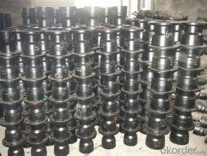 Ductile Iron Pipe Fitting with Socket and Spigot