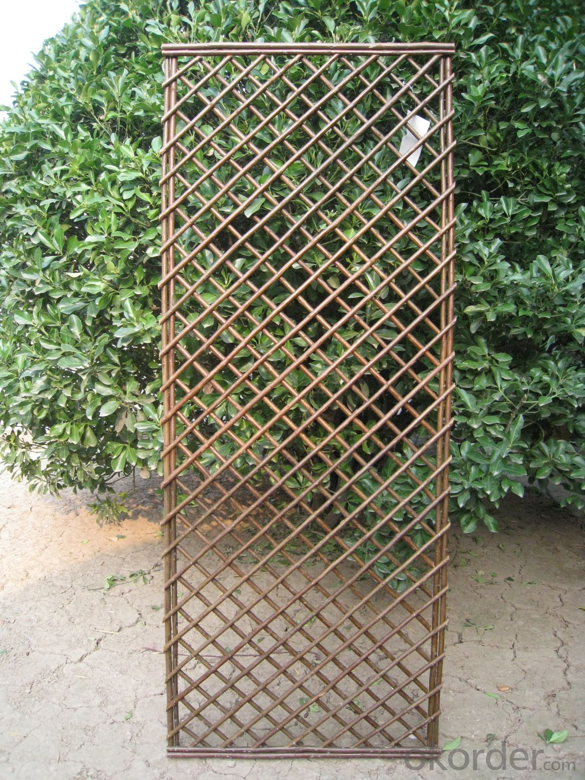 STOCK WICKER SCREENING GARDEN DECORATION PANEL
