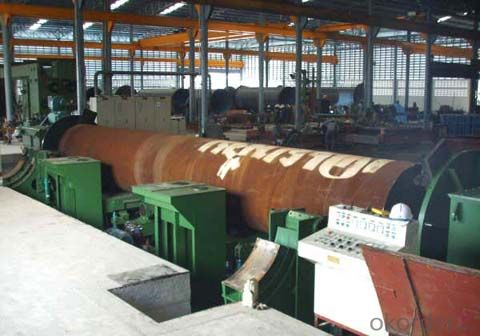 welded pipeflat head chamfering machine mill machine