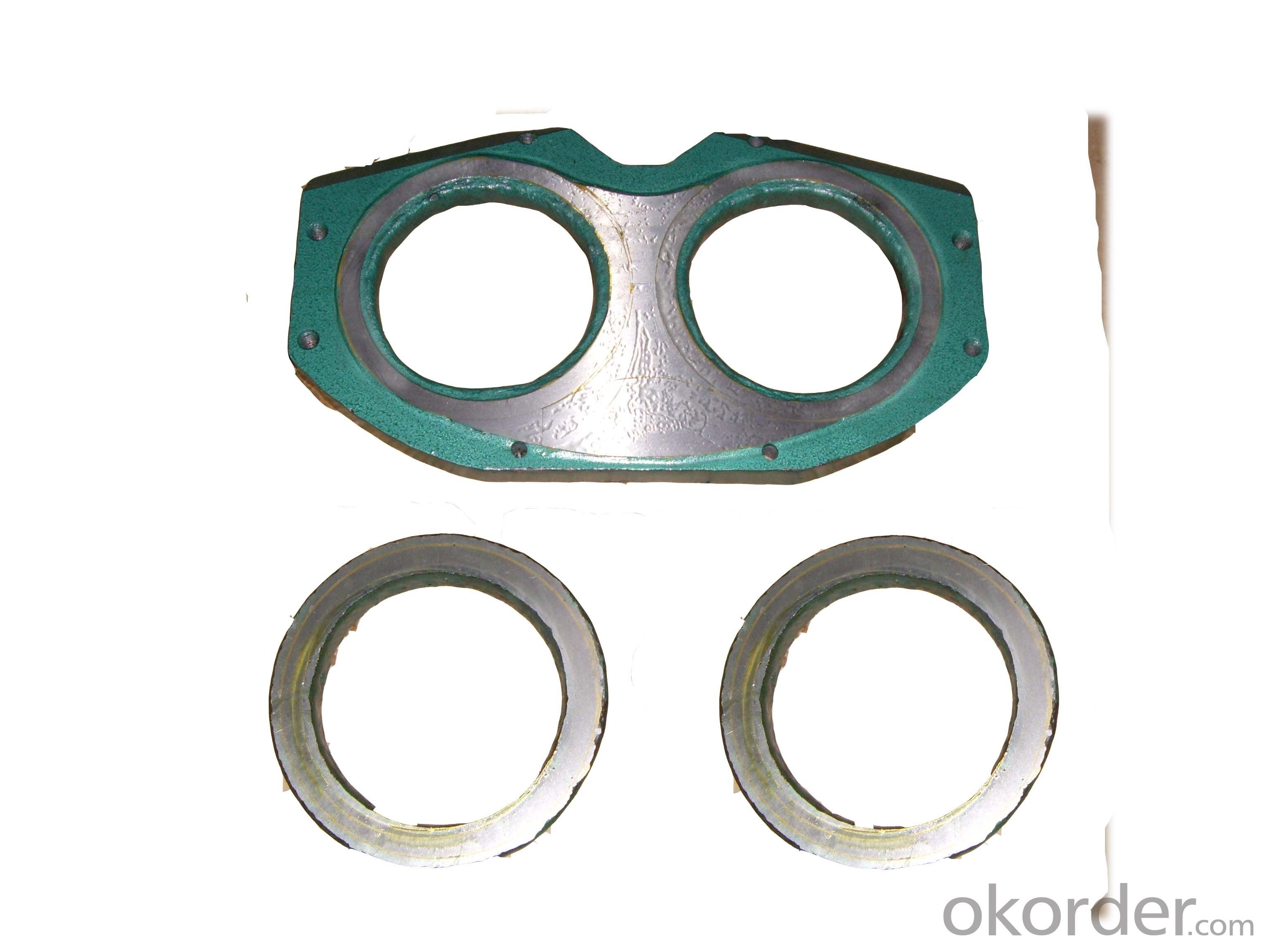 Carbide Spectacle Plate and Wear Ring PM260