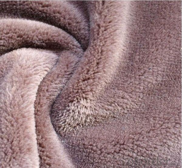 Plain Dyed Plush Carpet
