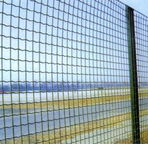 chain link fence hexagonal mesh
