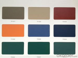 POWDER COATING ALUMINUM PROFILE