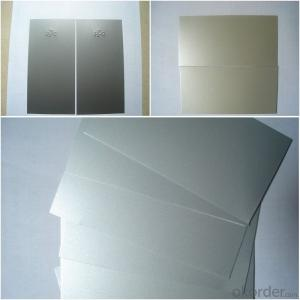 PVDF metallic coated aluminum panel sheet