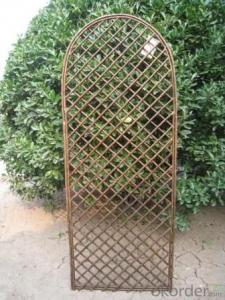 WICKER NATURAL GARDEN DECORATION PANEL