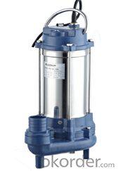 WQD Series Waste Water Pump
