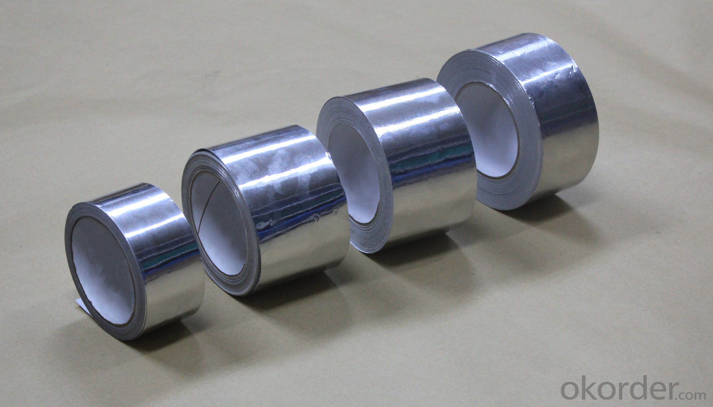 PURE ALUMINUM FOIL TAPE for INSULATION and AIR CONDITION