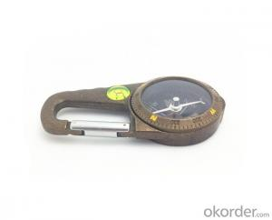 Carabiner Magnetic Compass T4386-2 For Tourist
