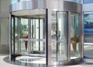 Automatic Revolving door two wings