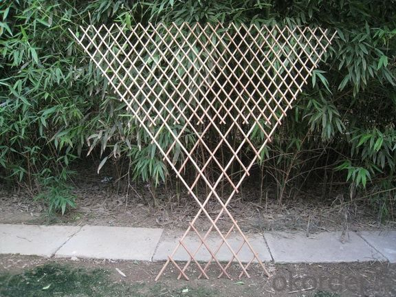 WILLOW NATURAL EXPANDABLE TRELLIS PANEL GROWING PLANTER