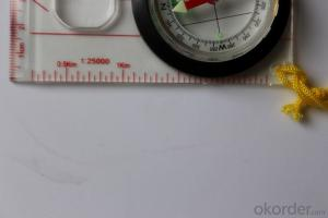 Map Scale Compass DC45-5W with Ruler