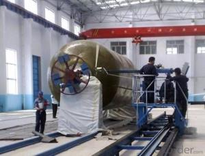 FIBER REINFORCE PLASTIC TANK FILAMENT WINDING MACHINE DN2000-6000