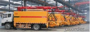 Vehicle-mounted Wet Shotcreting Machine