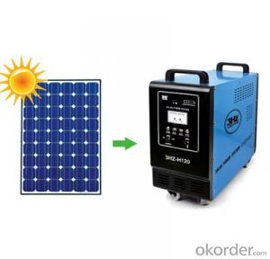 Portable solar power generator 150W