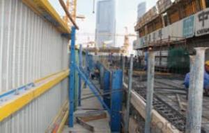 Protection formwork