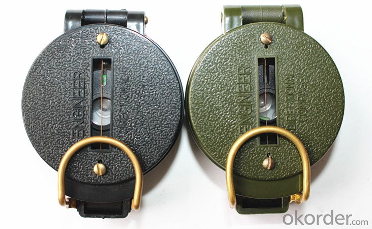Army or Military Compass for Hiking and Riding