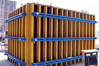 Timber-beam Formwork system for building construction