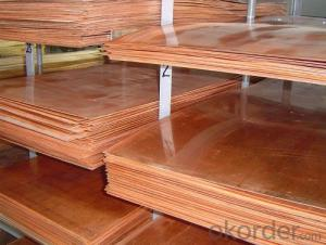 Copper Sheet CDA 10200-11000
