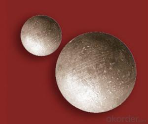 High Hardness Forged Grinding Ball for Mining