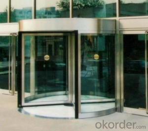 Automatic Revolving door four wings