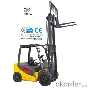 Electric Forklift Truck- FB30/25A