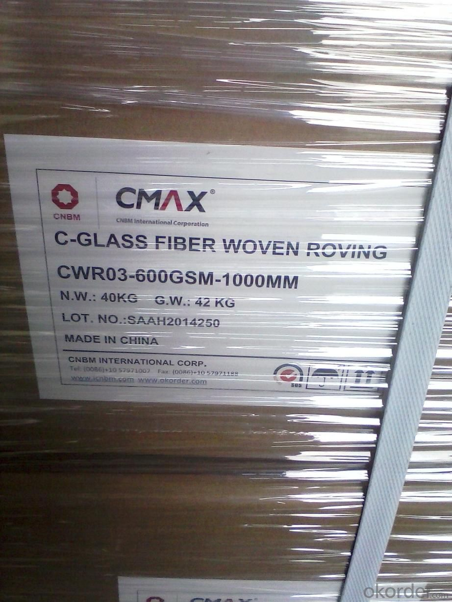 C Glass Woven Roving Fabric 600grs