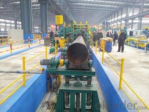 Steel Φ219 Φ711 CFOE mill roll forming machineryy