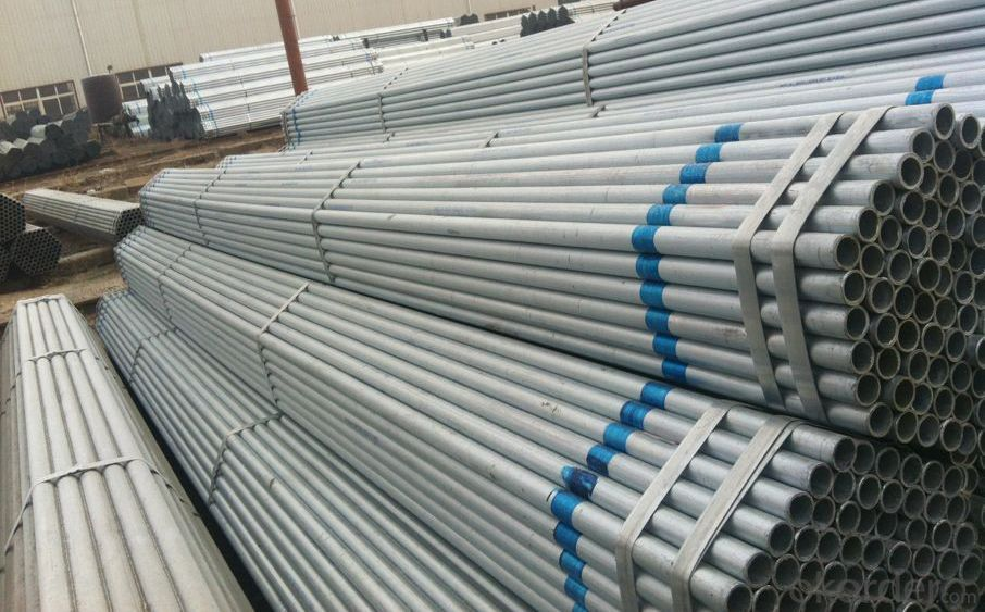 Hot Galvanized scaffolding Pipe For Building With BS 1387