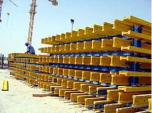 Timber-Beam Plywood Formwork system