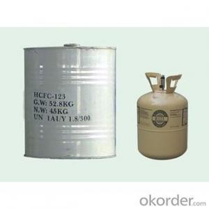 Refrigerant R123 Gas